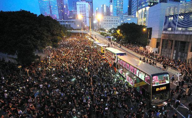 「香港デモ」を読み間違えた中国・香港政府