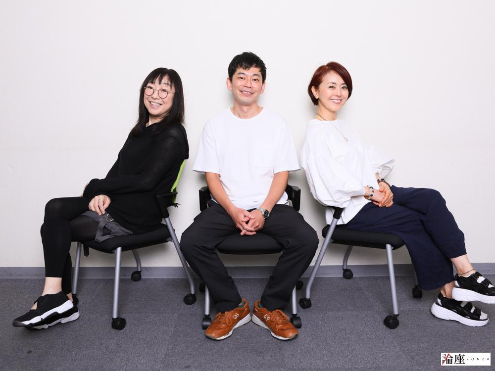 熊谷真実&山野海&岩田和浩インタビュー/下