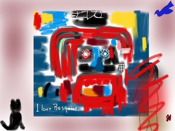 夭逝のアーティスト・バスキアに見る落書きの魅力