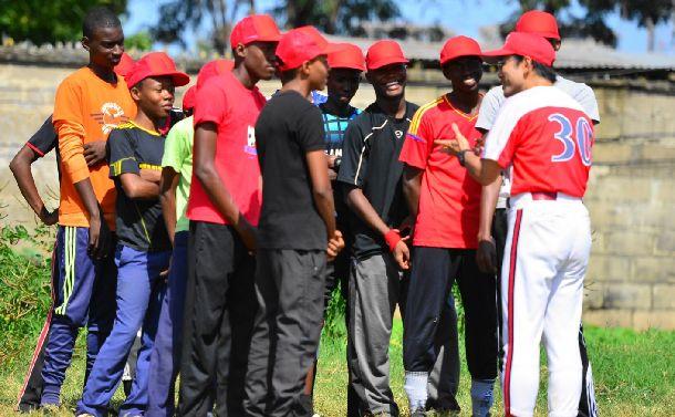 リスペクトする野球を知ったタンザニア