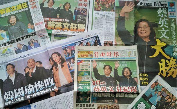 蔡英文総統の歴史的勝利と台湾の輝ける民主主義