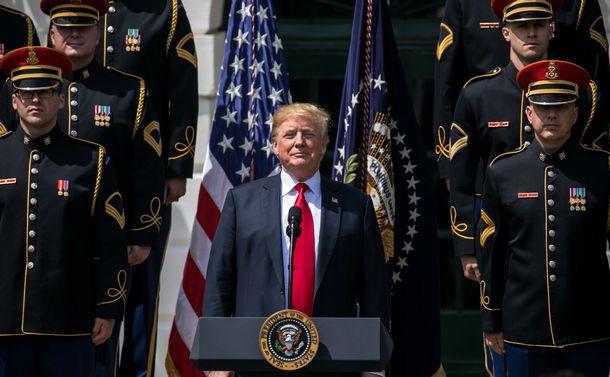 米国人は戦争に興味のないトランプを選んだ