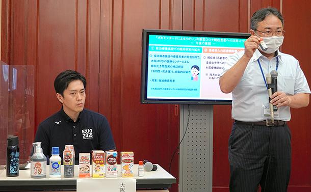 大阪府知事「ポビドンヨードうがい液」会見が提起した問題