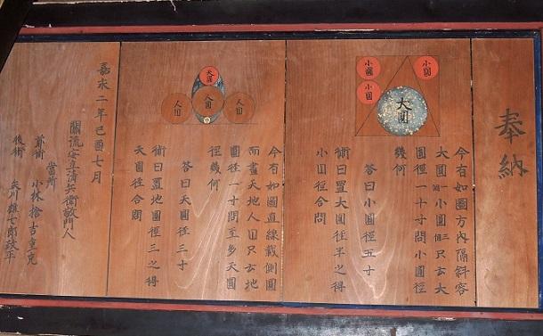算額から見える江戸時代の数学文化の素晴らしさ