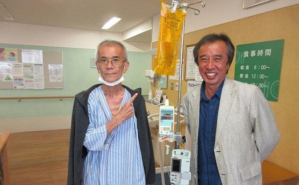 沖縄の盟友・大盛伸二さんに先に逝かれる