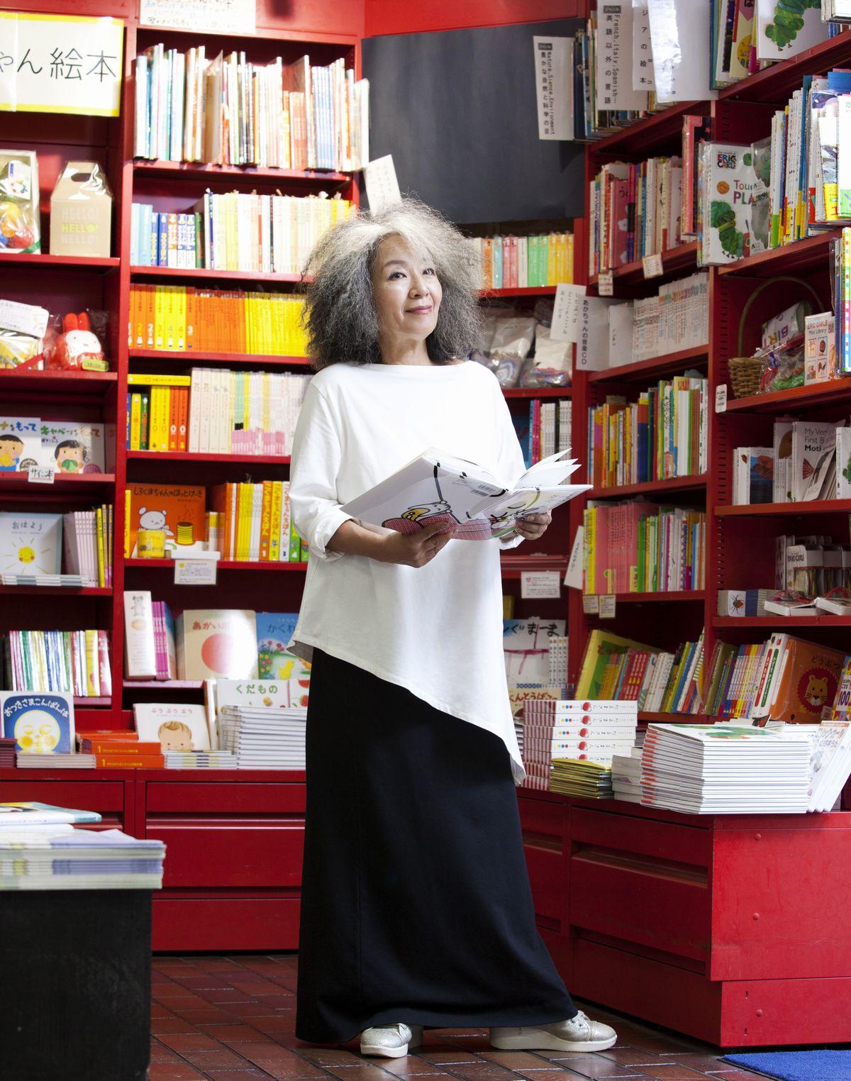 落合恵子さん 子どもたちと本との〝架け橋〟になって……
