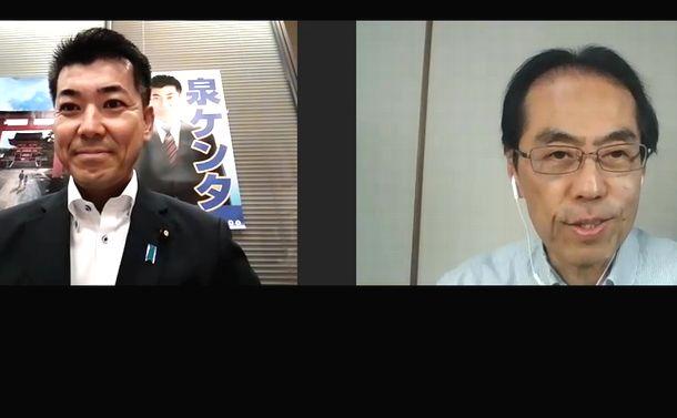 国民民主党・泉健太、枝野代表に挑みます!