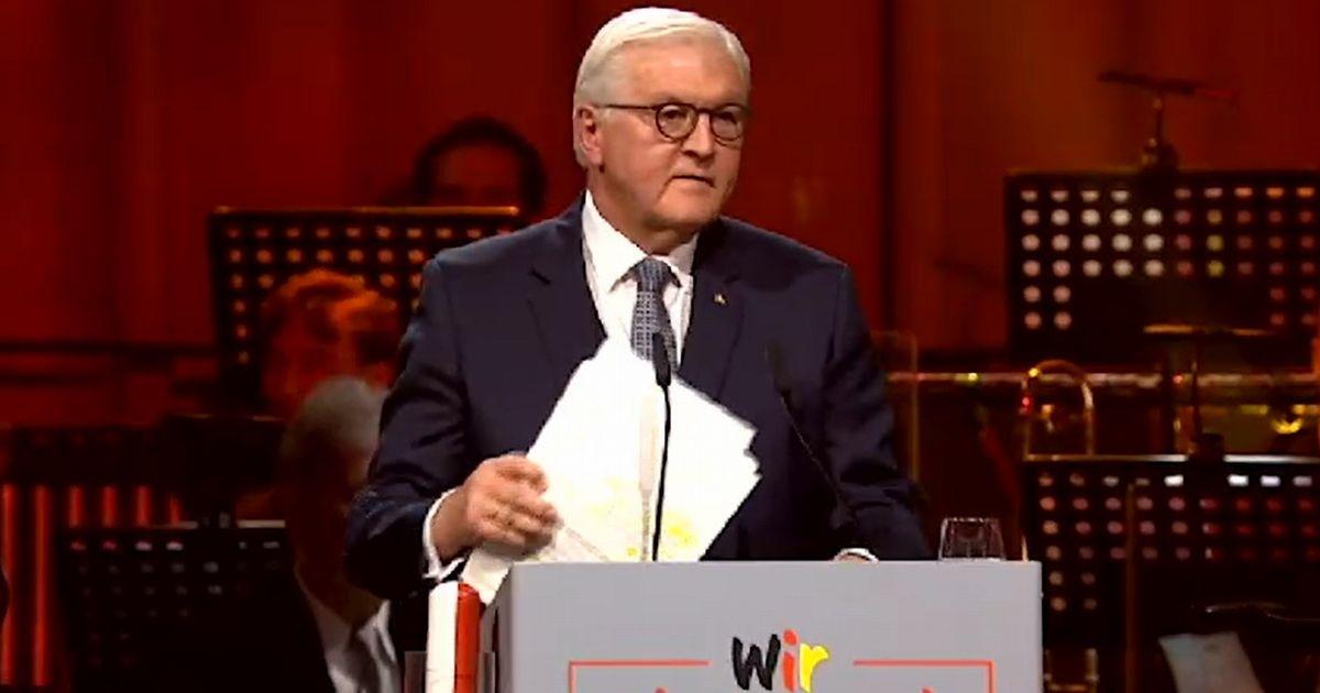 ドイツ再統一30年、連帯へ「光と影」語った大統領演説