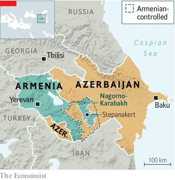 ナゴルノ・カラバフ紛争の背後にトルコ