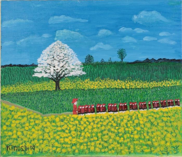 ハンセン病元患者たちの絵画展「ふるさと、天草に帰る」