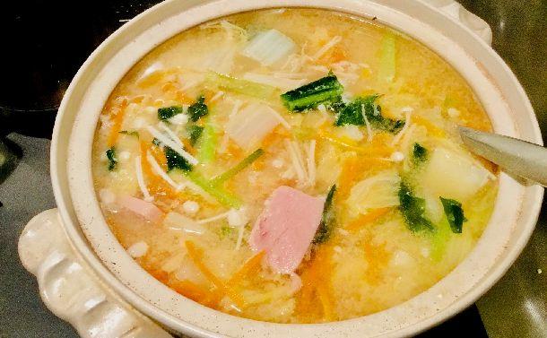 年末年始のカロリー過剰摂取に効果的 沖縄の味噌汁でダイエットはいかが?