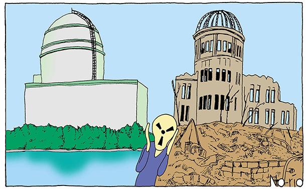 日本のメディアは、なぜ、原発批判漫画をボツにしたのか。