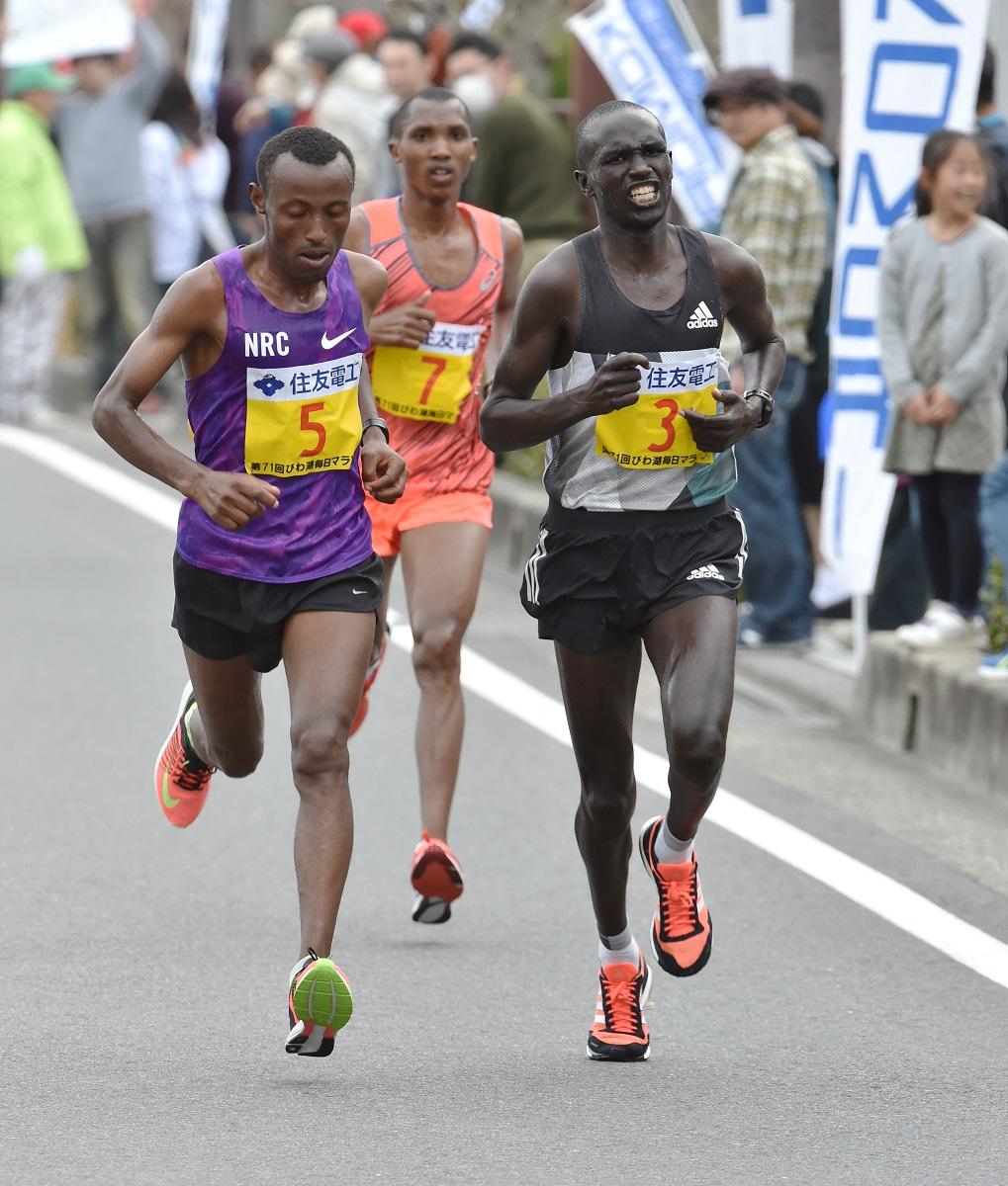 緊急事態宣言下での大阪国際女子マラソン