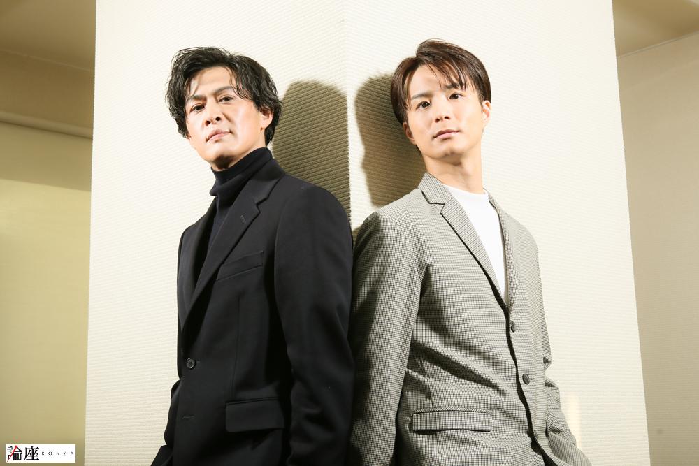 田代万里生&新納慎也インタビュー/上