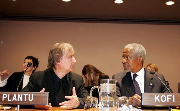 「平和のための漫画」とは? 国連事務総長とプランチュがやったこと