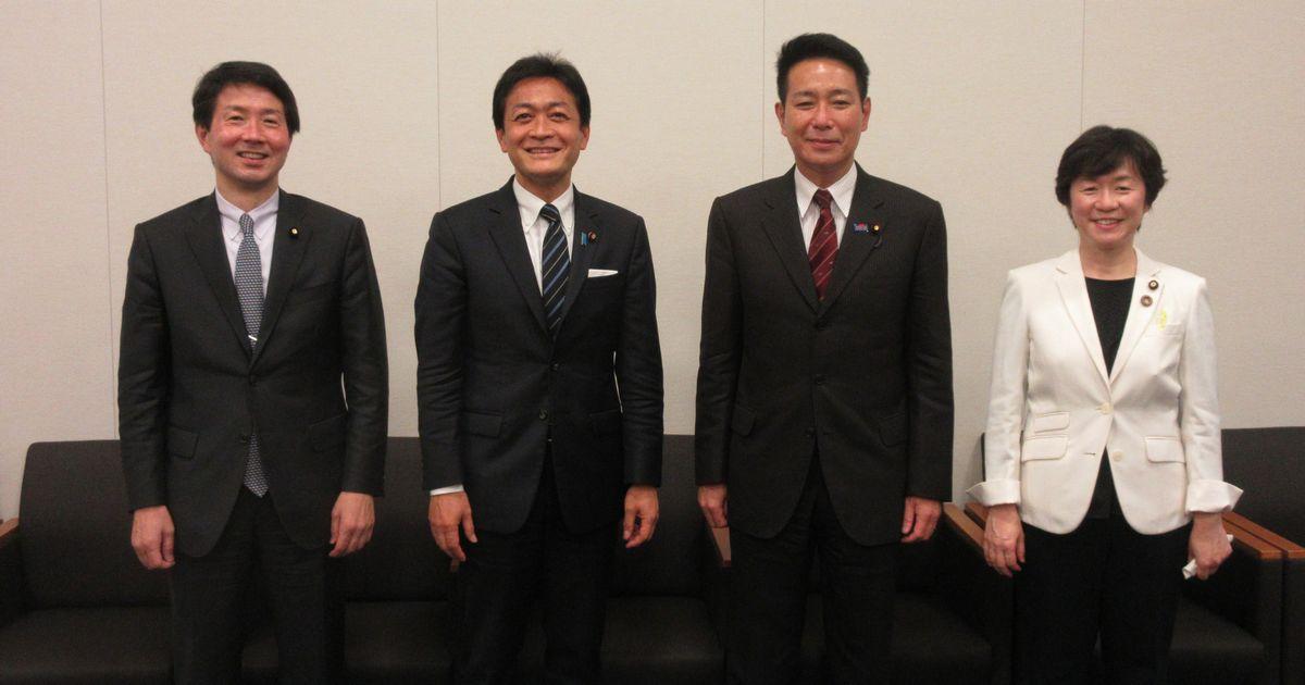国民民主党 玉木、前原、大塚、舟山4議員が語る令和の課題と政治の役割