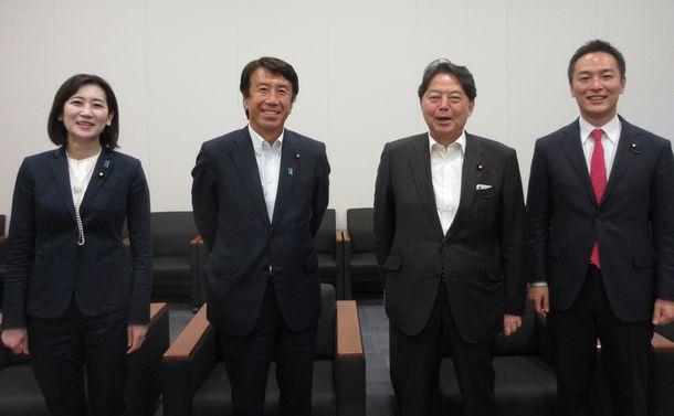 自由民主党 林芳正、齋藤健、村井英樹、松川るい4議員が語る令和政治の課題