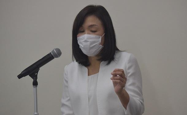 日本科学未来館新館長、全盲のIBMフェロー浅川智恵子さんが記者会見