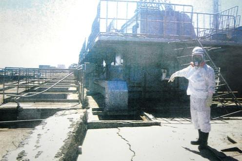 福島第一原発、高濃度放射能汚染水が太平洋に、止水できず