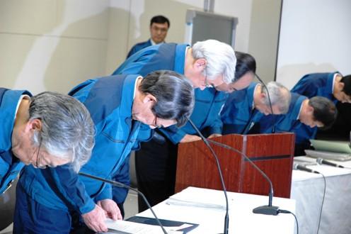 東京電力社長「ベストを尽くした」強気の記者会見