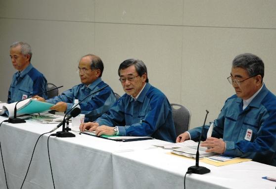 東京電力・清水社長、震災発生時の話は「プライベート」