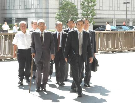 日債銀元会長らに逆転無罪《判決要旨・記者会見全文》
