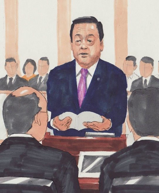 「裁判中止を」全面対決 小沢氏、検察を批判