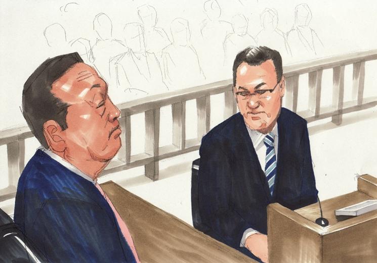 小沢議員第5回公判 大久保元秘書「事件の広がる止めるために事実でない話を認めた」
