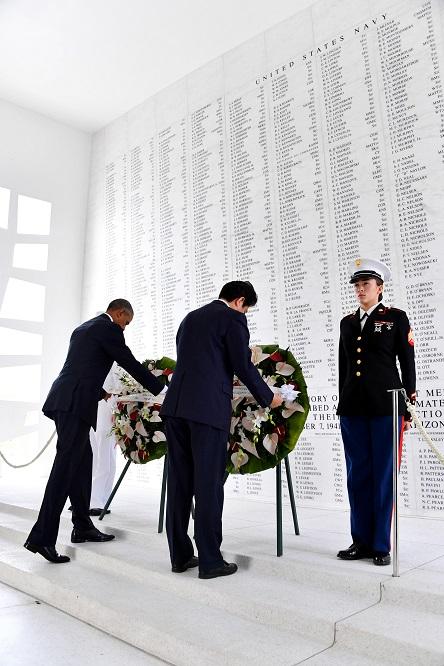 44年前、田中角栄首相、真珠湾アリゾナ記念館献花を検討「地元の反応は?」